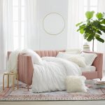 Avalon Channel Tufted Daybed In Blush