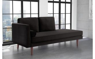Nora upholstered daybed in midcentury modern