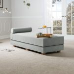 Convertible Daybed In Light Gray