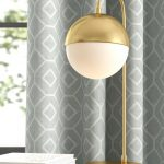 Jaydon Desk Lamp With Gold Finish Metal Base And White Bulb