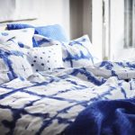 Cotton Made Bedding Treat With Bold Blue Patterns
