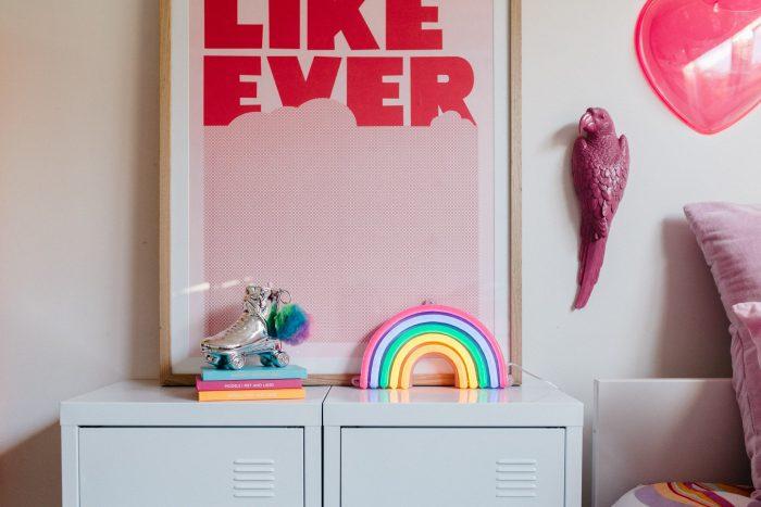rainbow decorative light in multicolor