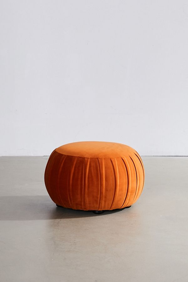 terracotta pouf by Urban Outfitters