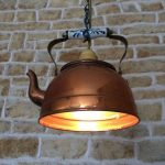 DIY Lamp Made Of Old Kettle
