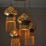 Ottman Chandelier With Mosque's Dome Shape