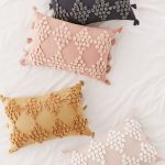 Embroidered Pillows In Multicolor
