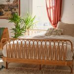 Rattan Bed Frame By Urban Outfitters