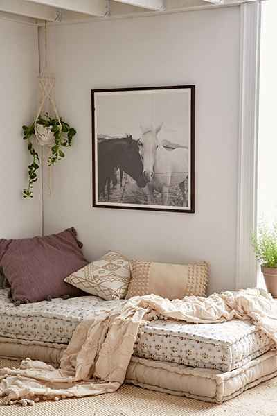 Reema floor cushions by Urban Outfitters