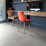 Concrete Like Vinyl Flooring Idea