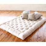 Flat Yet Firm Mattress Made Of Organic Wool And Cotton