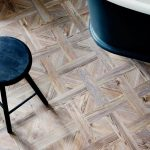 Timber Like Vinyl Flooring For Modern Bathroom