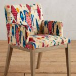 Anthropologie's Chair With Bold Colored Moroccan Prints