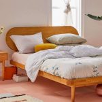 Camila Bed Frame With Oval And Raised Headboard