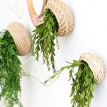 DIY Wall Mounted Planters For Greenery