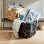 Ornate Baskets For Newspaper And Throw Blankets And Pillows Ethnic Patterned Accent Pillow