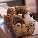 Easily Forgotten Bath Essentials On Ornate Basket