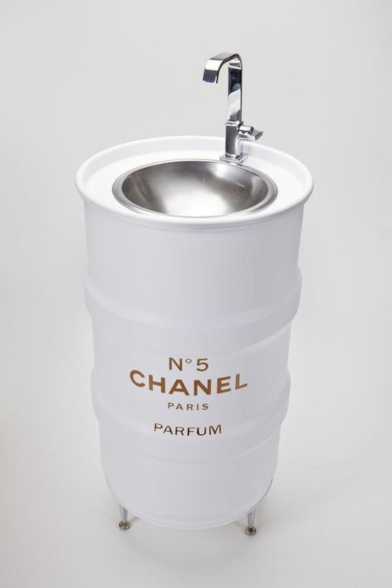 gallon drum sink for bathroom