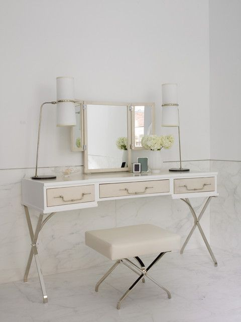 ultra light dressing table with stool