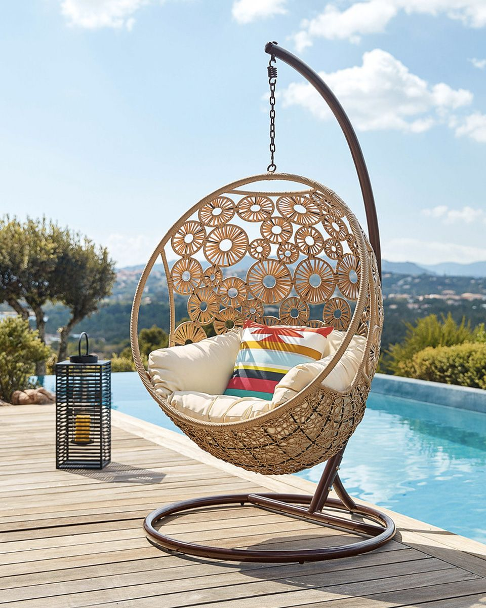 egg hanging chair for outdoor