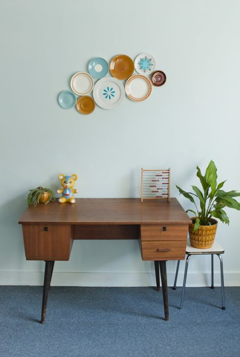 simple midcentury modern workspace furniture with drawers and tapered legs stool with stainless steel legs for greenery