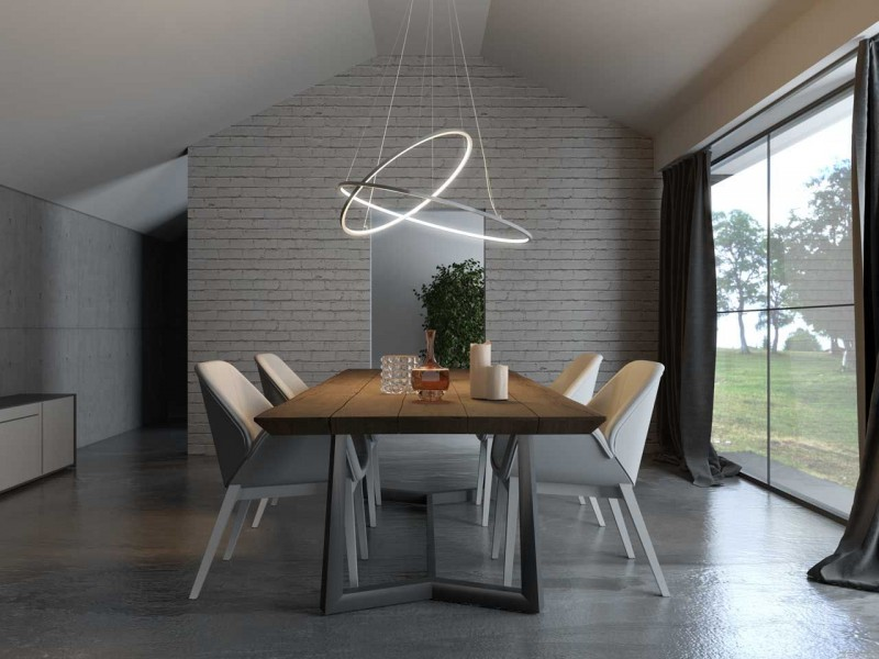 ultra modern pendant in round shape